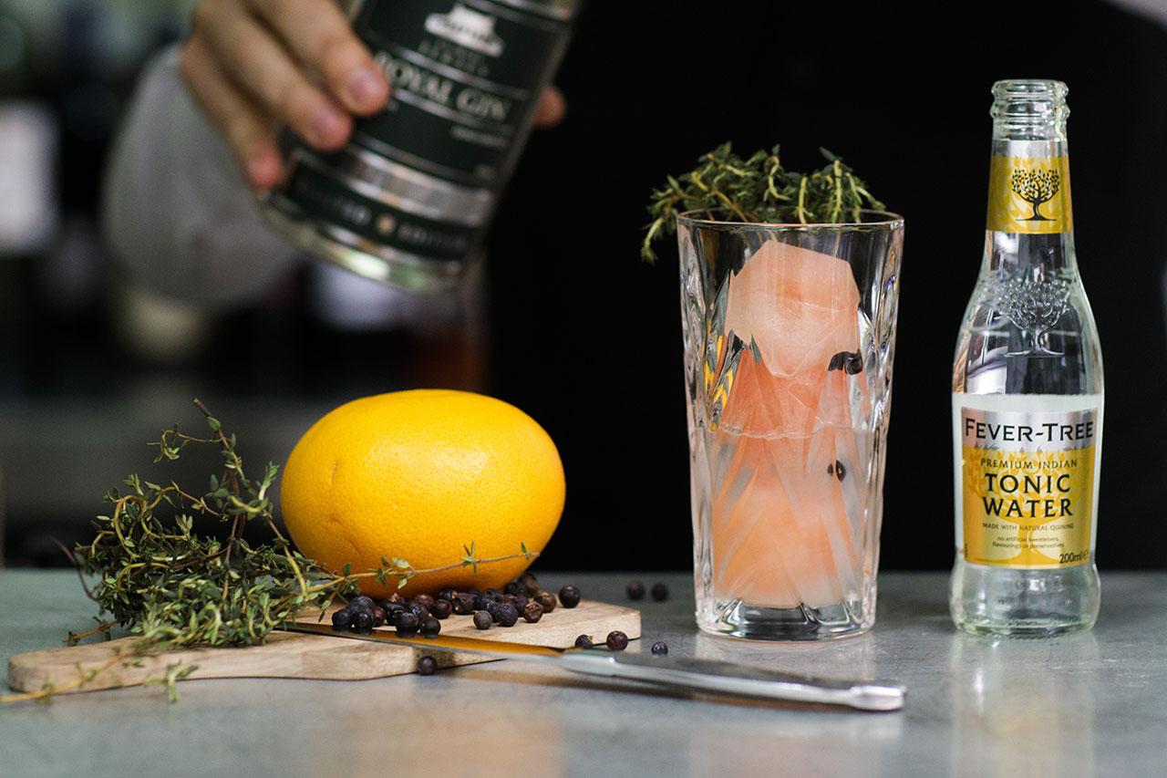 Banjo Gin Cocktail